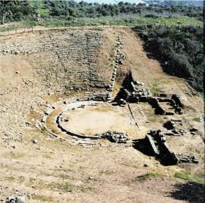 Aρχαίο θέατρο Στράτου