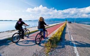 Στο Μεσολόγγι το ποδήλατο είναι το κατεξοχήν μέσο μετακίνησης