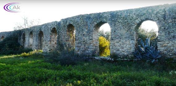 αρχαίο ρωμαϊκό υδραγωγείο Σταμνά