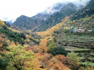 Φθινόπωρο στην Κοιλάδα των Νεράιδων Γιδομανδρίτη: Μία από τις πολλές εκφάνσεις της πολυποίκιλης φύσης της ορεινής περιοχής του Δήμου Θέρμου, η οποία παρέχει τα εχέγγυα για να γίνει πράξη το μακροπρόθεσμο όραμα της περιοχής για ανάπτυξη στηριγμένη στα εγγενή χαρακτηριστικά της.