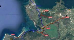 διπλή οδική σύνδεση Λευκάδας