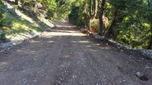 δρόμος Χαλίκι Προυσός ορεινό δίκτυο (2)
