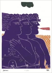 Τρεις γενιές Ελληνικής Ζωγραφικής – Χαρακτικής – Γλυπτικής