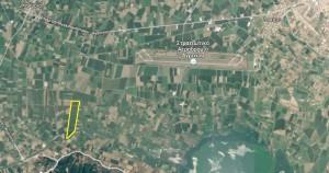 Με το κίτρινο χρώμα η δημόσια έκταση που προτείνεται για το Επιχειρηματικό Πάρκο (κλικ για μεγέθυνση)