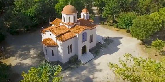 Το εκκλησάκι του Σωτήρος στο Πάρκο του Αγρινίου - ΑγρίνιοCulture